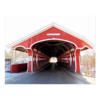 Enter the Thompson Covered Bridge Postcard