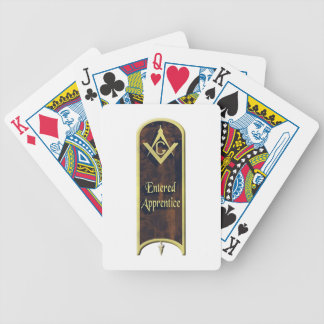 Entered Apprentice Bicycle Playing Cards