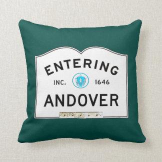 Entering Andover Throw Pillow