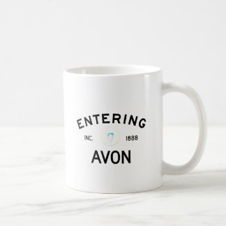 Entering Avon Classic White Coffee Mug