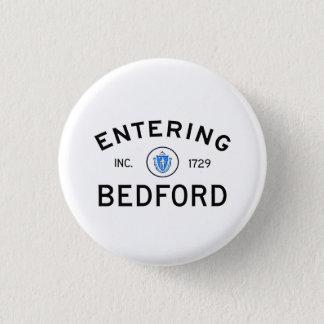 Entering Bedford 1 Inch Round Button