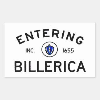 Entering Billerica