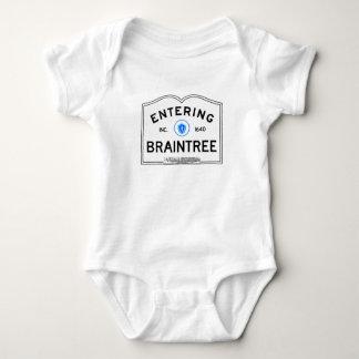 Entering Braintree Baby Bodysuit