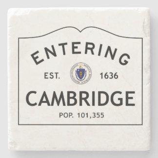 Entering Cambridge Marble Coaster Stone Coaster