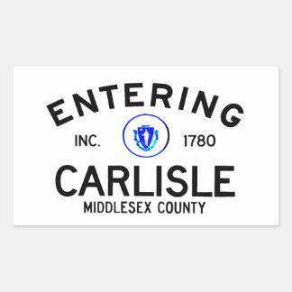 Entering Carlisle