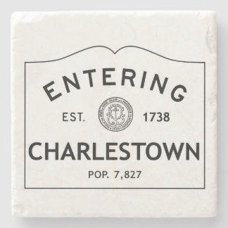 Entering Charlestown Marble Coaster Stone Coaster