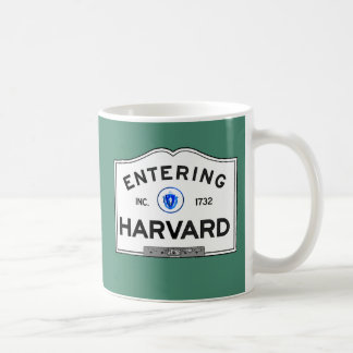 Entering Harvard Coffee Mug