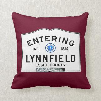 Entering Lynnfield Throw Pillow