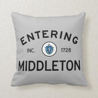 Entering Middleton Throw Pillow