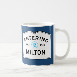 Entering Milton Coffee Mug