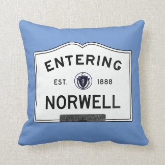 Entering Norwell Throw Pillow