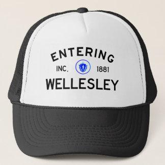 Entering Wellesley Trucker Hat