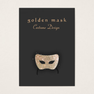 Entertainment Theatre Mask  Business Card