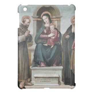 Enthroned Madonna and Child with Saints iPad Mini Case