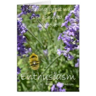 Enthusiasm Card