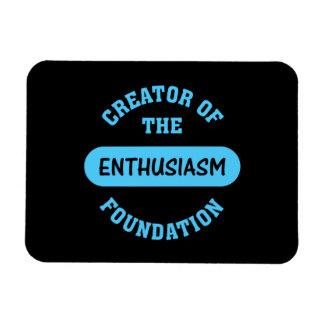 Enthusiasm Foundation Creator Rectangular Photo Magnet