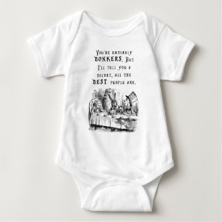 entirely bonkers A4 Baby Bodysuit