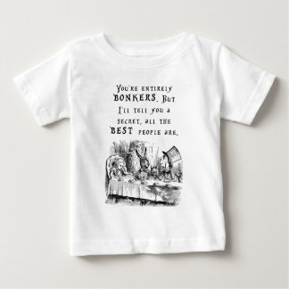 entirely bonkers A4 Baby T-Shirt