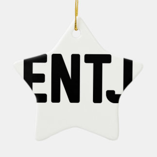 ENTJ CERAMIC ORNAMENT