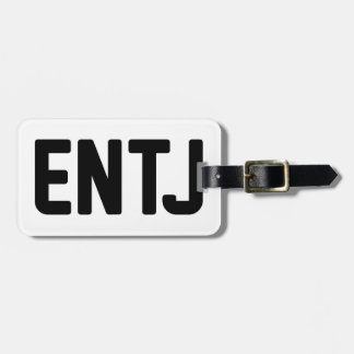 ENTJ LUGGAGE TAG