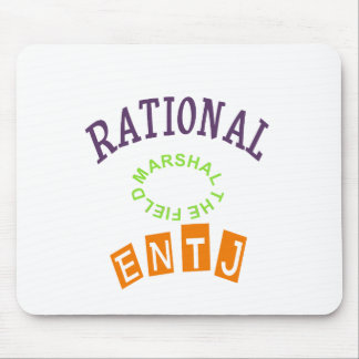 ENTJ Rational Personality Mouse Pad