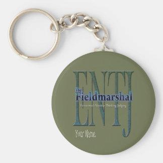 ENTJ theFieldmarshal Basic Round Button Keychain
