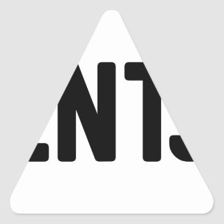 ENTJ TRIANGLE STICKER