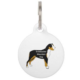 entlebucher mt dog name silo color pet ID tag