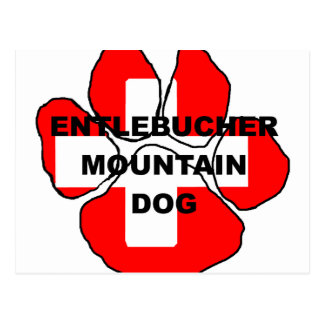 entlebucher name on paw switzerland flag png postcards