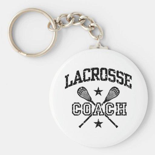 Entraîneur de lacrosse porte-clef