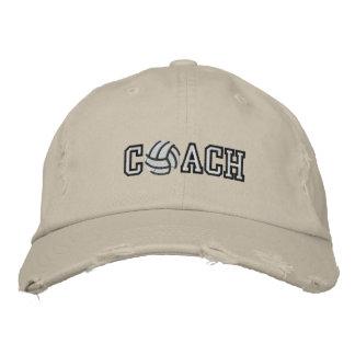 Entraîneur de volleyball casquette de baseball