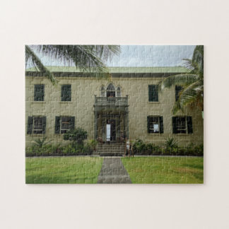 Entrance of Hulihe'e Palace in Kailua-Kona, Hawaii Jigsaw Puzzle