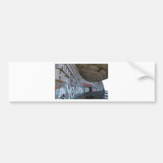 Entrance to Buzludzha, Balkan Mountains, Bulgaria Bumper Sticker