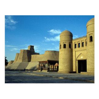 Entrance to city, Khiva, Uzbekistan Postcard