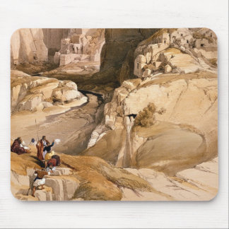Entrance to Petra, March 10th 1839, plate 98 from Mouse Pad