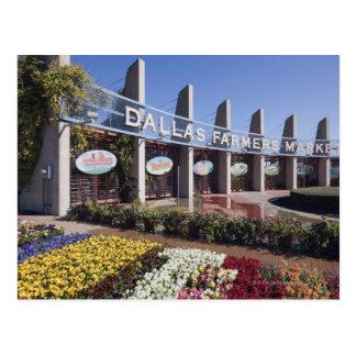Entrance to the Dallas Farmers Market Postcard