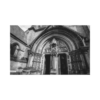 """Entrance to the Gothic cathedral"" wall art"