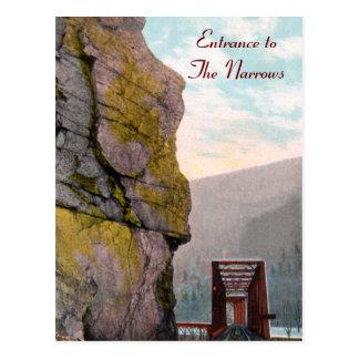 Entrance to The Narrows Postcard