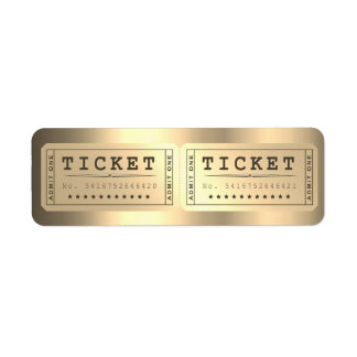 Entrence Entreatment Ticket Show Foxier Gold
