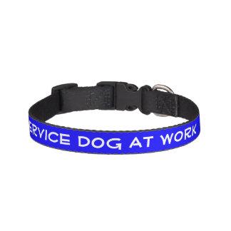 Entretenez le chien au travail (petit) collier de chien
