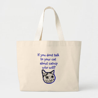 Entretien à votre chat au sujet de cataire sac