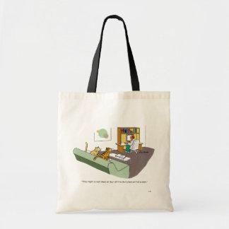 Entretien de chat sac en toile budget