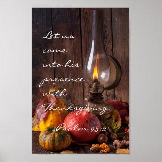 Entrez dans sa présence avec le thanksgiving, le