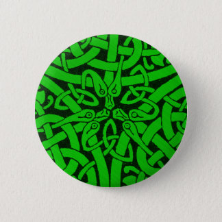 Entwined Snakes 2 Inch Round Button