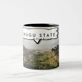 Enugu, Nigeria Customized TeaCup/Mug Two-Tone Coffee Mug