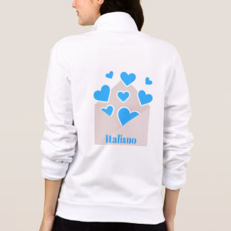 Envelope Full of Hearts Loving Italian (Italiano)
