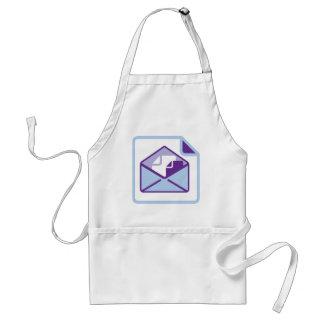 Envelope Icon vector Standard Apron