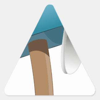 Envelope Letter Stuffed Mailbox Triangle Sticker