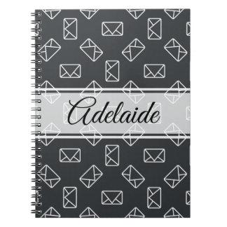 Envelope pattern notebook