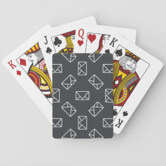 Envelope pattern playing cards